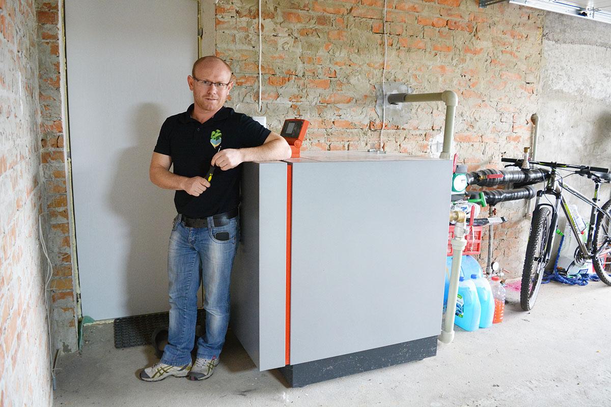 Тепловой насос Viessmann типа Грунт-Вода для отопления дома 260 кв. м. Киевская обл.