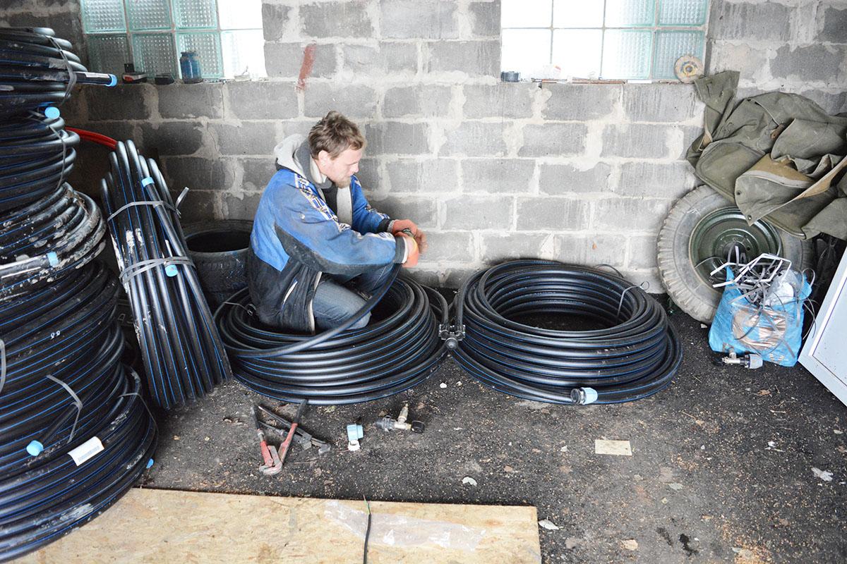 Тепловой насос Грунт-Вода для отопления дома 985 кв. м. в Киевской обл.