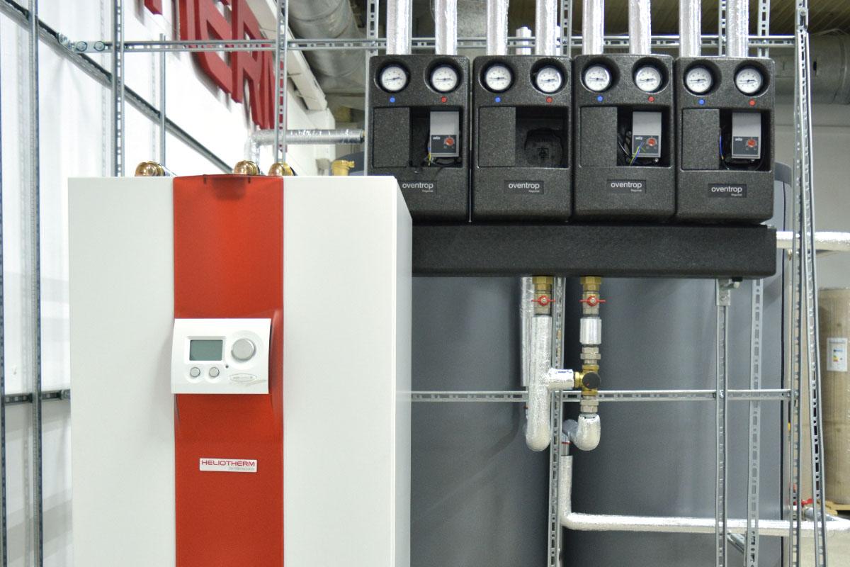 Тепловой насос Грунт-Вода компании Heliotherm для отопления дома 260 кв. м. Хмельницкая обл.
