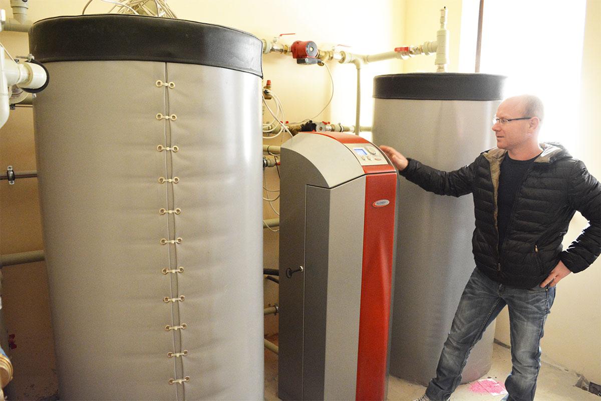 Тепловой насос прямого испарения компании Heliotherm для отопления дома 260 кв. м. Киевская обл.