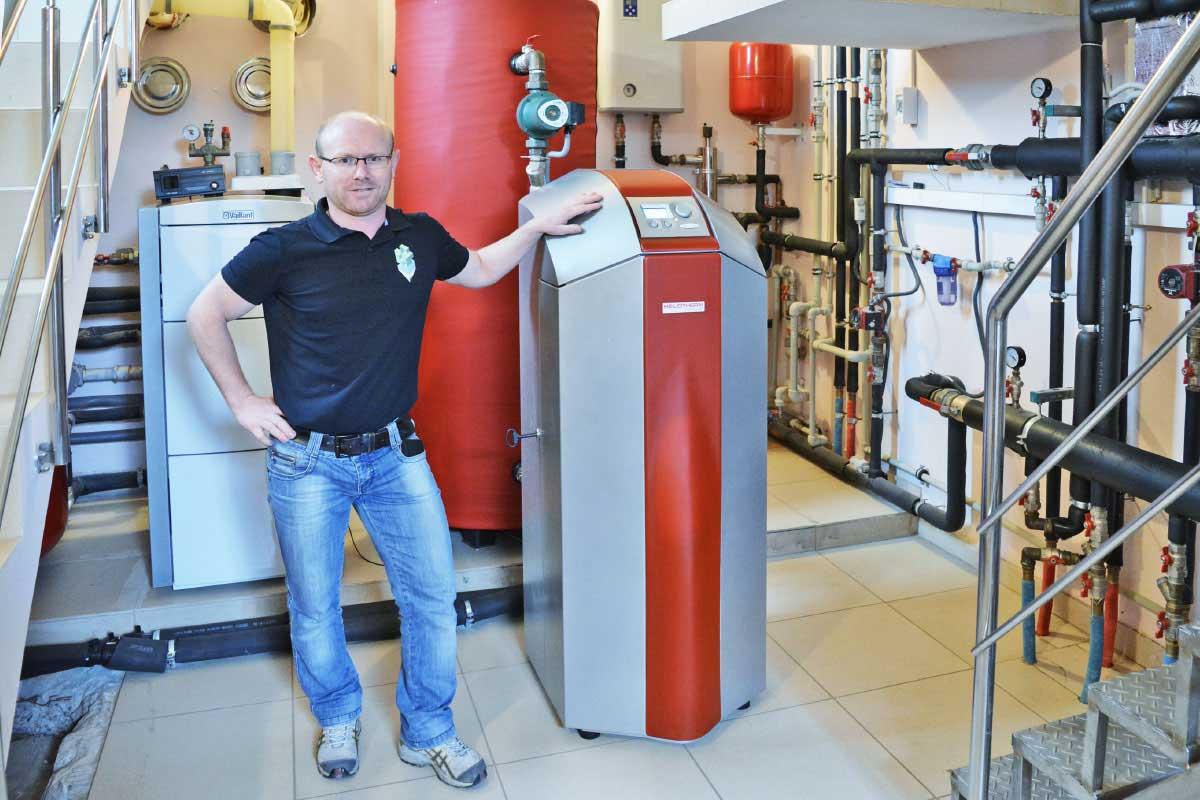 Тепловой насос Вода-Вода для отопления дома в Киеве площадью 510 м²