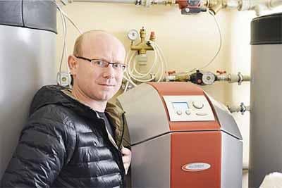 Тепловой насос Грунт-Вода для отопления дома 260 м²